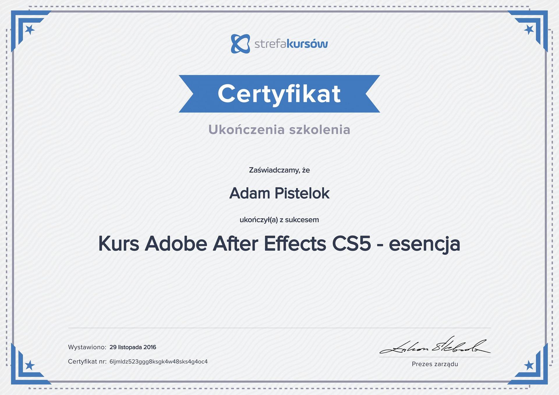 After effect cs5