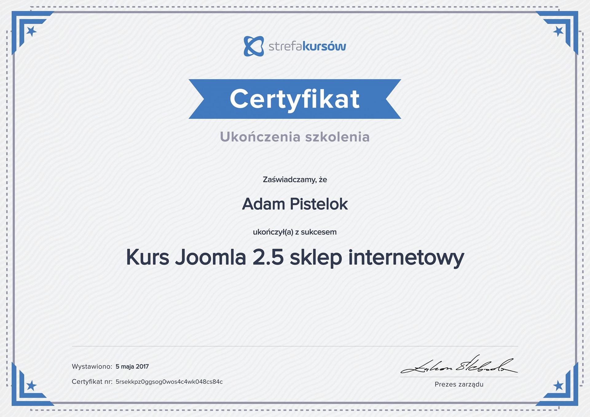 Joomla sklep internetowy 2