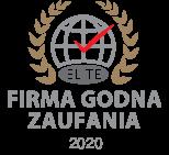 Medal i Certyfikat Firma Godna Zaufania Elite