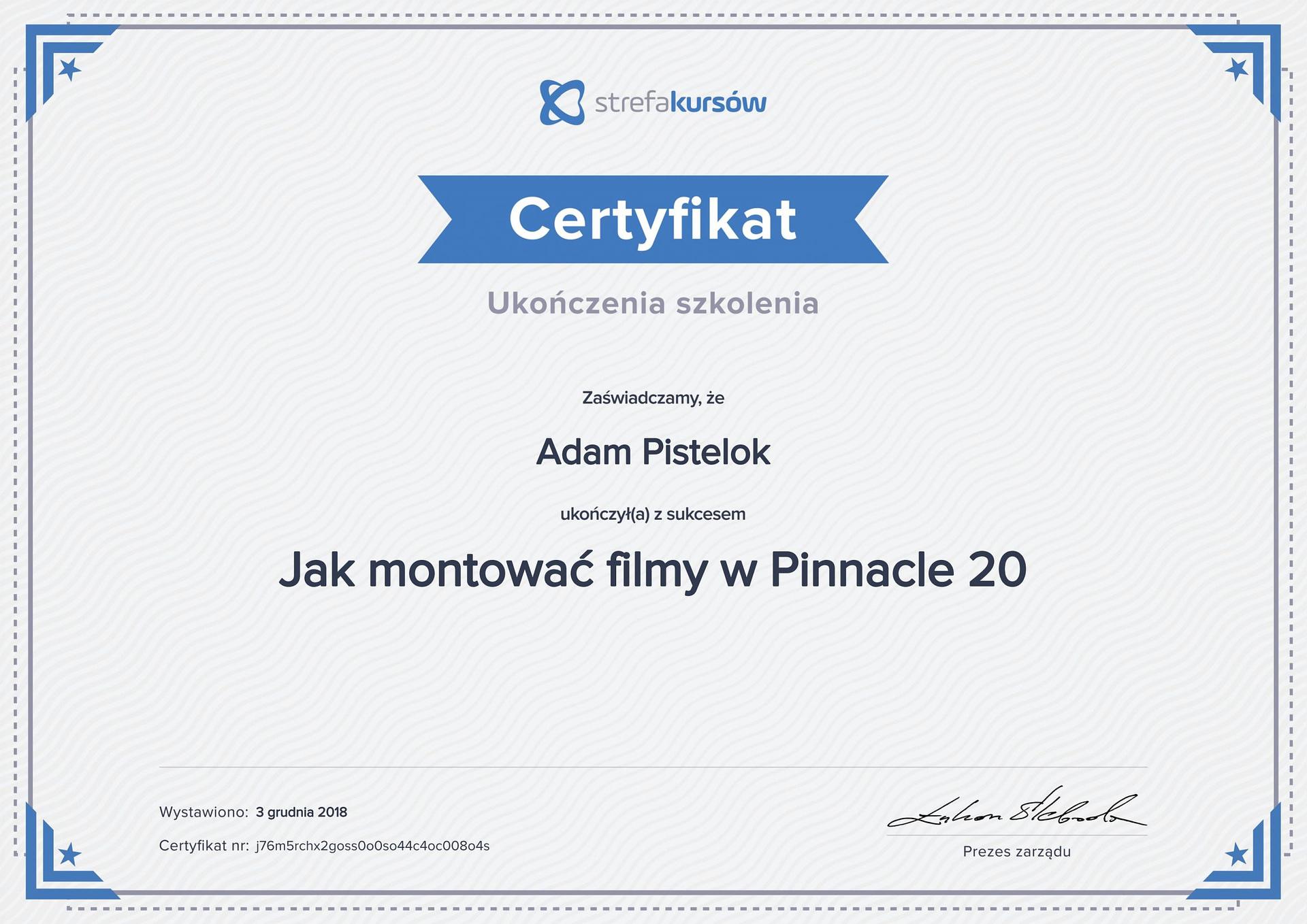 Pinnacle 20