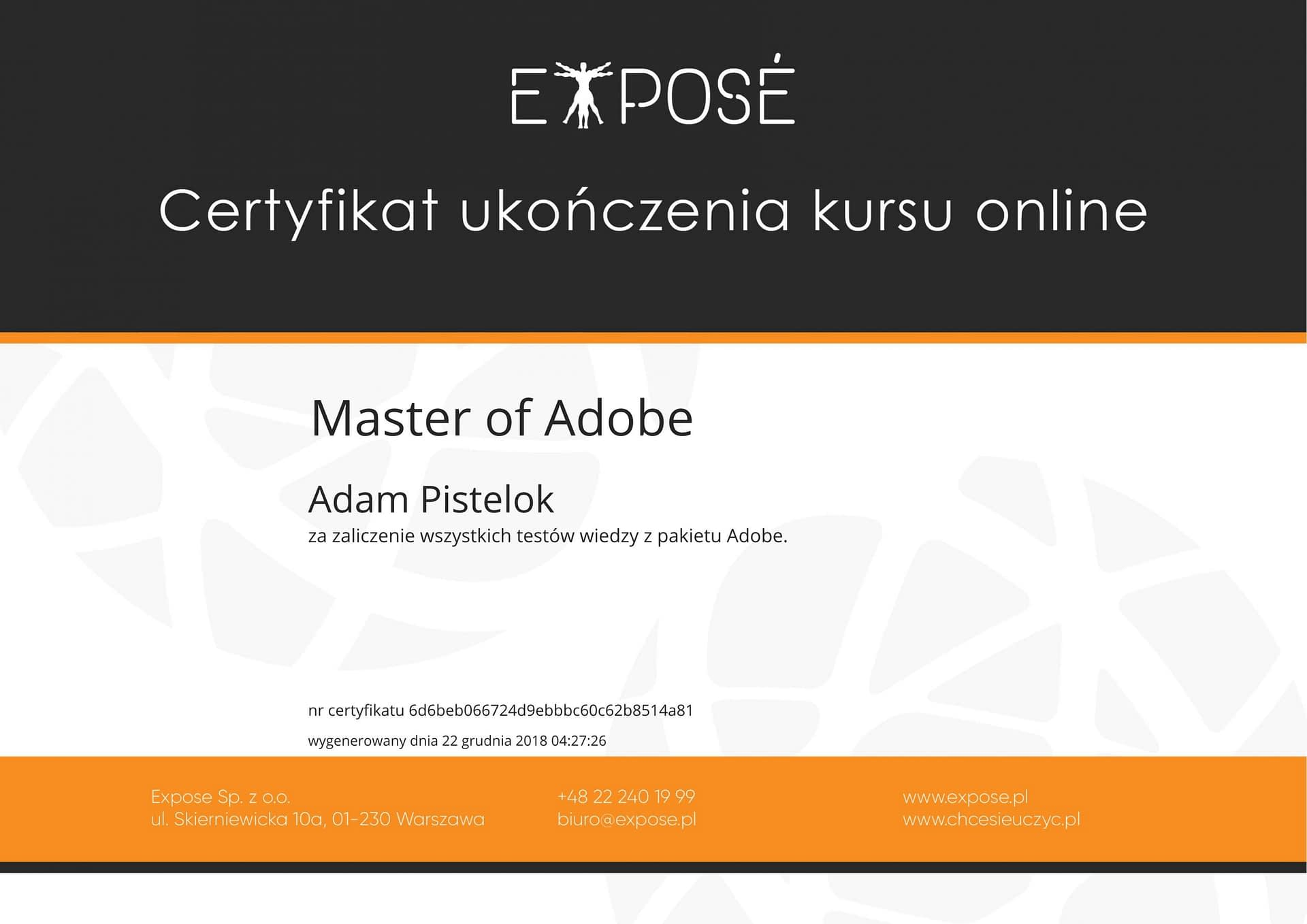 Master of adobe